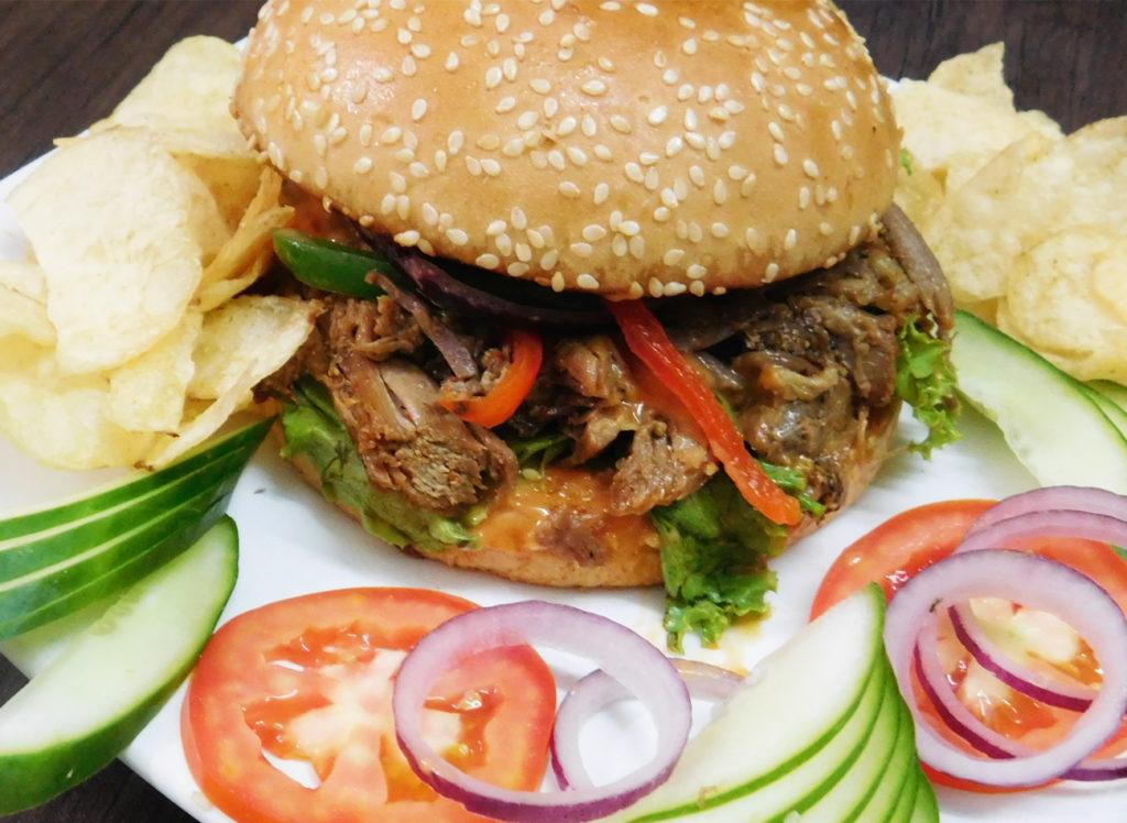 Best Ever Roasted Lamb Burgers Recipe