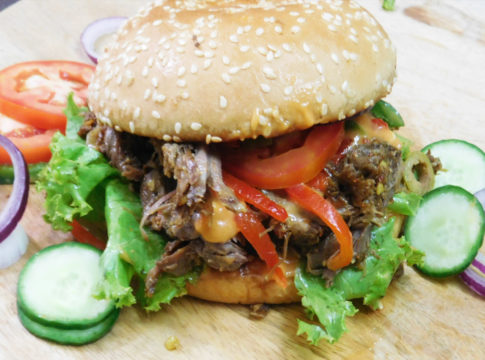 Best Ever Roasted Lamb Burgers Recipe