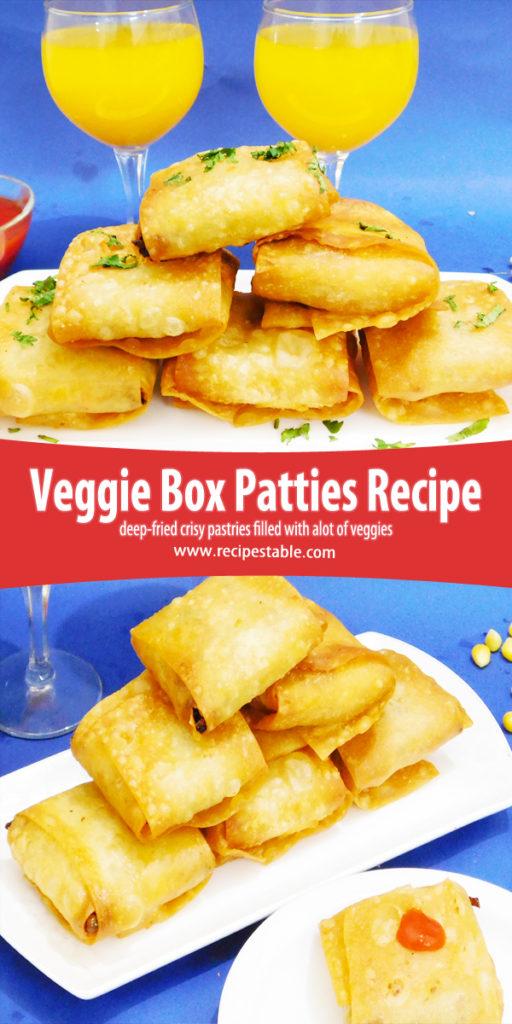 Very Veggie Box Patties Recipe